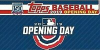 2019 Topps Opening Day Baseball Singles Complete Your Set Pick Card Build Lot