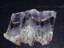 "Flurorite  Purple- 4 3/4  ""  x  3 7/8""--rough for cabbing-display"