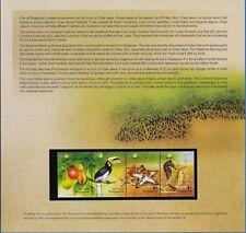Singapore 2004 Chek Jawa, Wildlife Ecosystem Stamps Souvenir pack MNH US-Seller