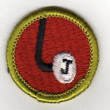 Journalism (J-Key) Merit Badge, Type G, Cloth Back  (1969-71), Mint!