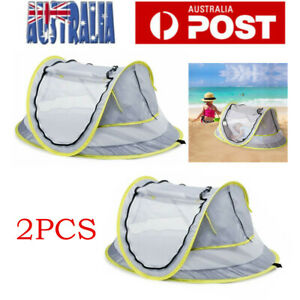 2pcs Infant Sun UV Protection Beach Tent Baby Portable Travel Camping Shelter AU
