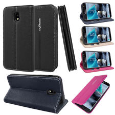 For Samsung Galaxy J7 2018 Case/J7 Top/J7 Star cover PU Leather Flip+2slots Case