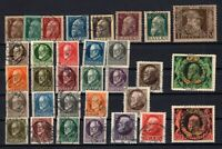 P135617/ BAYERN, OLD GERMANY – YEARS 1911 - 1920 USED SEMI MODERN LOT – CV 182 $