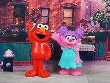 Sesame Street Muppets Abby Cadabby Elmo Cake Topper Figure Model K1224 EF