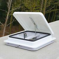 AutoShield Campervan Boat Horsebox Camper Skylight Roof Vent Motorhome 420x420mm