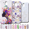 Cute Soft Case Clear Cover TPU Back Various Slim Rubber Skin For HTC Desire 526