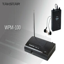 Takstar In-Ear Professional Stage Monitor Wireless Systems Amplifier Headsets