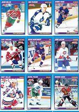 "1991-92 SCORE NHL ""TOP PROSPECTS"" 20 CARD SET"