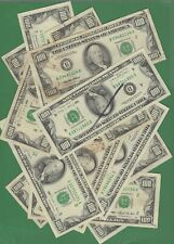 (1) $100 FEDERAL RESERVE HUNDRED DOLLAR BILL... OLD CURRENCY...poor/good