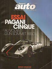 SPORT AUTO 573 GALLARDO LP 560-4 SPYDER PAGANI CINQUE ISO RIVOLTA BREADVAN