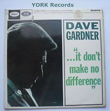 DAVE GARDNER - It Don't Make No Difference - Ex Con LP Record Capitol T 1867
