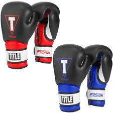 Title Boxing fusión Tech guantes de entrenamiento de gancho y bucle
