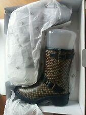 däv Gummistiefel Stiefelette 36 / 40 Innenfutter luxury rubber boots dav wellies