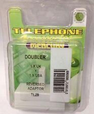 MERCURY ADSL Broadband Modem BT RJ11 Phone Splitter Filter Adaptor