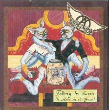 Aerosmith - Falling In Love (Is Hard On The Knees) 2 Tracks Card Cd Eccellente