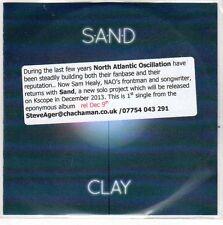(EO708) Sand, Clay - 2013 DJ CD