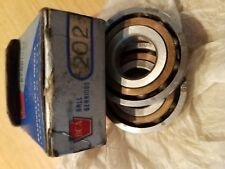 2 x BCA Ball Bearings 202 DBSM Made in USA Box of 2