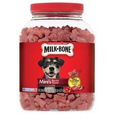 36 oz Mini Milk-Bone Bacon Flavor Snacks Dog Treats