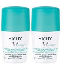 Vichy Anti-Transpirant 48H Deodorant Roll-on For Women 2x50ml, US Seller