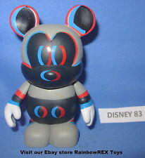 """DISNEY VINYLMATION 3"""" URBAN SERIES #5 CHASER 3D MICKEY MOUSE"""