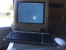 Apple iMac G3 Power Pc Computer M5521 With Keyboard Mouse
