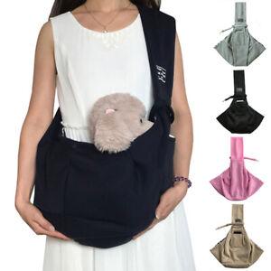 Pet Dog Cat Puppy Carrier Breathable Tote Shoulder Travel Bag Sling Backpack #