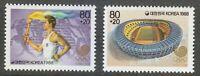 Korea 1988 MNH Mi 1559-1560 Sc B53-B54 Seoul 1988 Olympic Games **