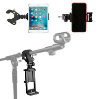 Adjustable Music Tablet PC Ipad and Cellphone Mount Holder for Microphone Stand