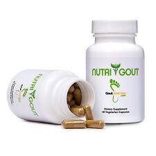 NutriGout Uric Acid Lowering and Gout Supplement from GoutandYou.com