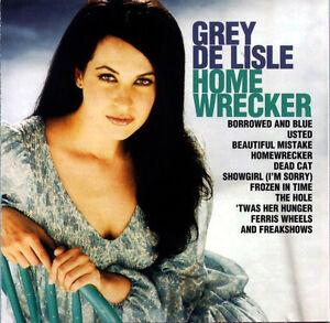 "Grey Delisle ""Homewrecker"" CD ~~ 2nd Album ~~ Limited Issue, Sealed"