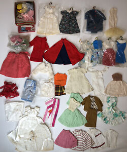 "Vintage Homemade Clothes + Accessories For 11.5"" Fashion Dolls Barbie Tammy"