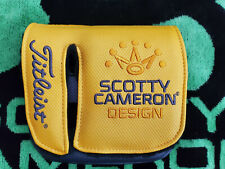 Scotty Cameron Phantom X 12 Mid Square Mallet Putter head cover Headcover