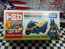 TOMICA MEGALUCARIO BLUE DASH BIKE NEW IN BOX POKEMON DREAM TOMICA SERIES