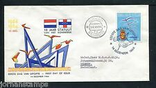 Ned. Antillen FDC E33_ 4M, met adres, Curacao ;