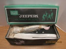 Vintage Sears Jeepers 410 High-Cut Black Sneakers W/Box Excellent Condition