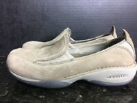 Women's Merrell Primo Moc II Plateau Taupe shoes 6 - B7