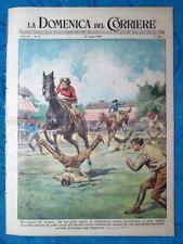 La Domenica del Corriere 31 luglio 1949 Inghilterra - Perth Amboy,USA - Sicilia