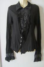 Nolita NY black shirt, size 44, AUS 10-12, new