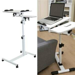 Adjustable Portable Laptop Desk Table Stand Lap Sofa Bed PC Notebook Study work