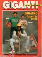 GIGANTI DEL BASKET=N°5 (294) 31/3/1990=AZA NIKOLIC=NCAA=PHILIPS MILANO