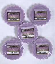 Yankee Candle LAVENDER Tart Melts / Lot Of 5 / Free Shipping