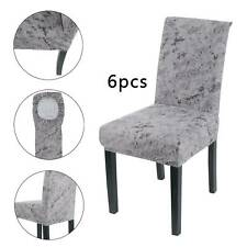 Dining Chair Seat Covers Slip Cover Stretch Wedding Banquet Party Removable