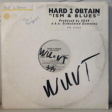 HARD 2 OBTAIN - ISM & BLUES (VINYL 2LP)  1994!!!  RARE!!!  ARTIFACTS!!!