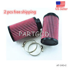 (2) PCS K&N Style Air Pod Filters Filter Stock Carbs For Yamaha Banshee YFZ350