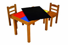 Multipurpose (Whiteboard/Blackboard/Lego top) Wooden Table & Chairs Set