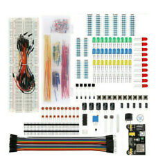 Electronics Component Wires Leds 830/400 tie-point Breadboard Transistor Starter