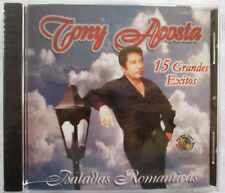 """TONY ACOSTA """"15 GRANDES EXITOS"""" CD - BRAND NEW WITH CRACKED CASE"""