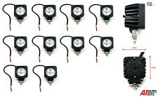 10x POWERFUL FRONT BULL NUDGE BAR & SPOT SMD LED LIGHTS 12V DAY LAMP CAR SUV 4x4