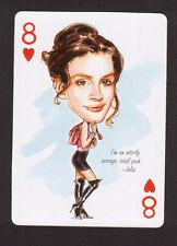 Julia Roberts Pretty Woman Movie Film Star Caricature Playing Card