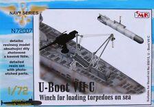 CMK 1/72 U-Boat Type VII C verricello per il caricamento siluri in mare per Revell # N72007